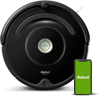 Robot-laveur-iRobot-671-tapis-sols-durs-Wi-Fi