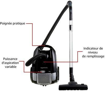 Amazon-Basics-aspirateur-avec-sac