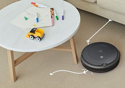 Aspirateur-Robot-iRobot-Roomba-692-Amazon-Alexa-Google-Home