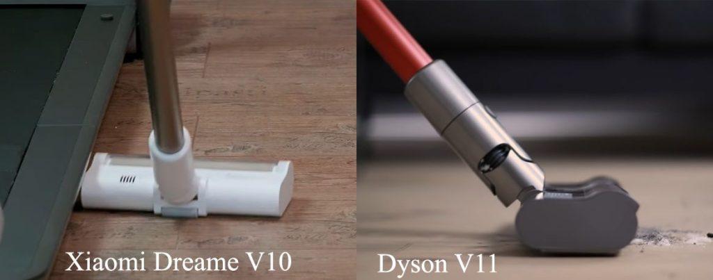 Xiaomi-Dreame-V10-vs-Dyson-V11