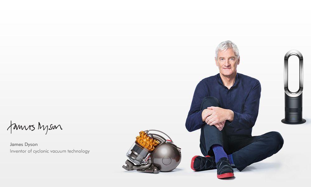 James Dyson : la révolution de l'aspirateur sans sac de l'inventeur britannique